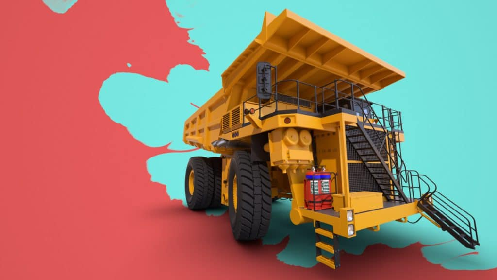 3D Product Visualisation - Heavy Machinery